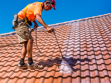Apply Roof Tile Sealer